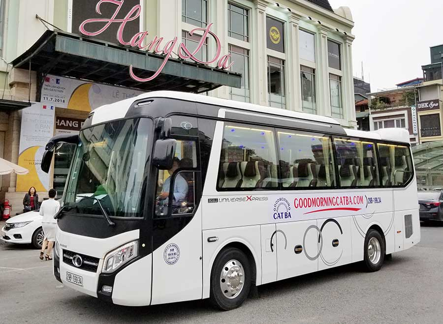 Hanoi Cat Ba Bus