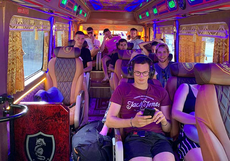 Hanoi to Ha Giang Limousine Bus