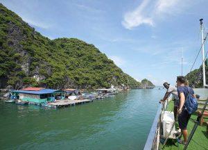 Beo floating villages