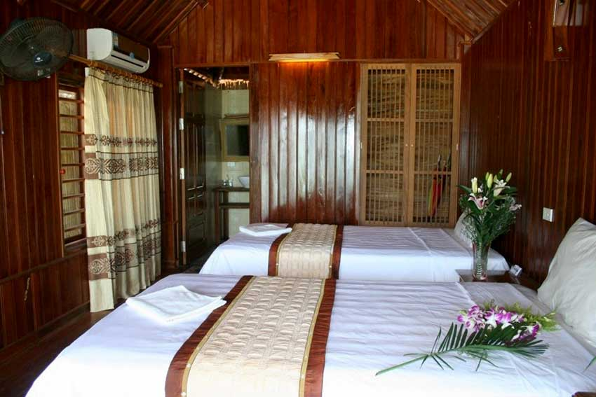 Monkey island resort room