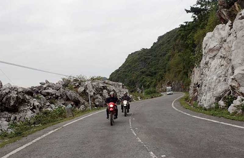 Hanoi to Cat Ba motorbike